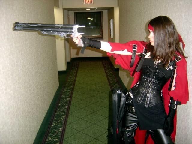final fantasy 7 vincent female cosplay