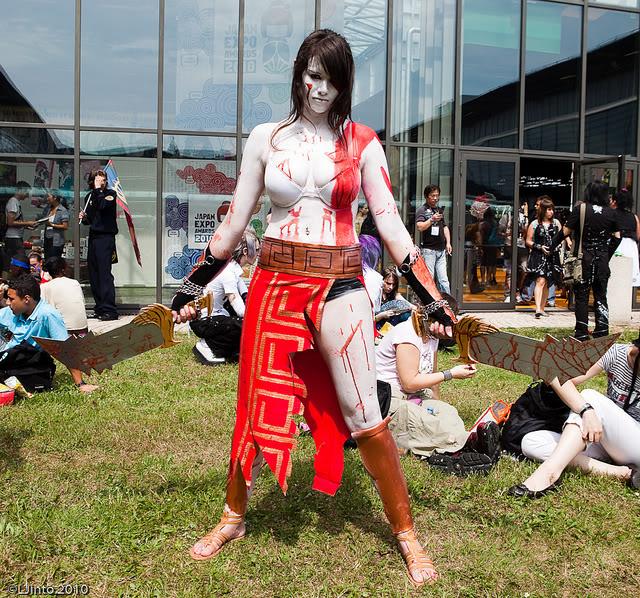 god of war cosplay