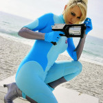 metroid samus cosplay girl