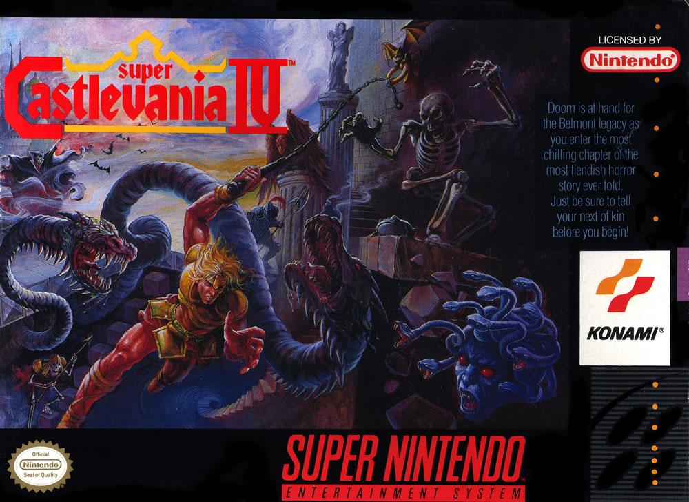Super Castlevania 4 box