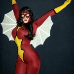 spiderwoman cosplay girl