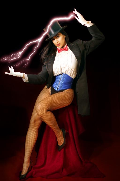 zatanna cosplay girl