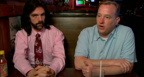 Billy Mitchell with Steve Sanders