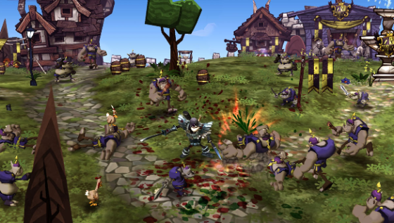 Deathspank - PC Game Screenshot