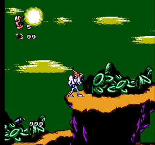EarthWorm Jim 3 - Bootleg - Gameplay Screenshot