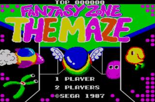 Fantasy Zone The Maze - Opa-Opa - Sega Master System - Gameplay Screenshot