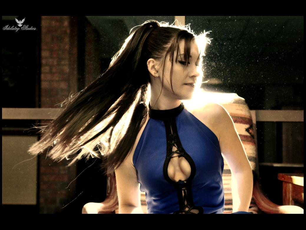 Kitana s Aura by final testament cosplay girl