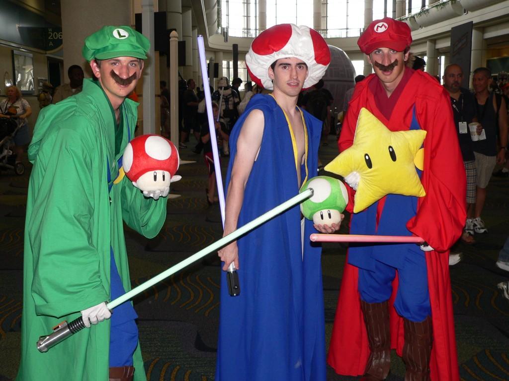 Mario Star Wars cosplay