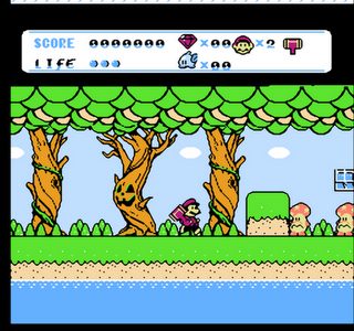 Super Bros 8 - Gameplay Screenshot
