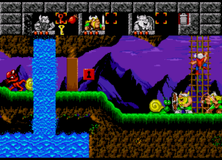 The Lost Vikings - Sega Genesis - Gameplay Screenshot