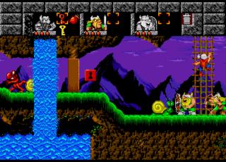The Lost Vikings - Sega Genesis - Gameplay Screenshot