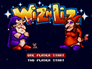 Wiz 'n' Liz - Master System - Gameplay Screenshot