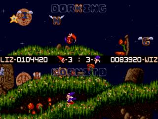 Wiz 'n' Liz - Master System - Gameplay Screenshot