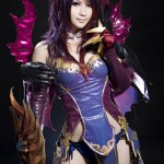 aion cosplay girl