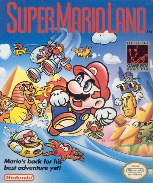 Super Mario Land box Gameboy