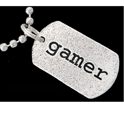 gamer dog tag