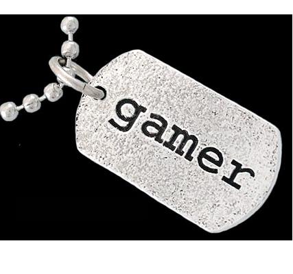 gamer dog tag