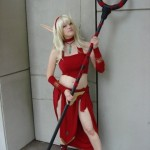 world of warcraft blood elf cosplay girl