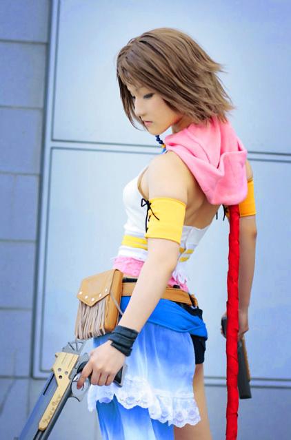 yuna cosplay girl