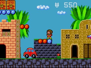 Alex Kidd - EnchantedCastle