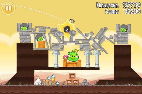 Angry Birds bomb