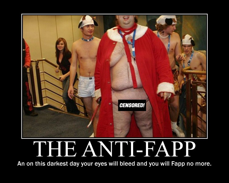 Anti-Fapp Motivational Poster