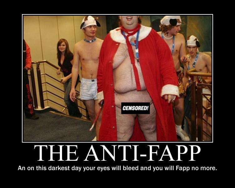Anti-Fapp Motivational Poster