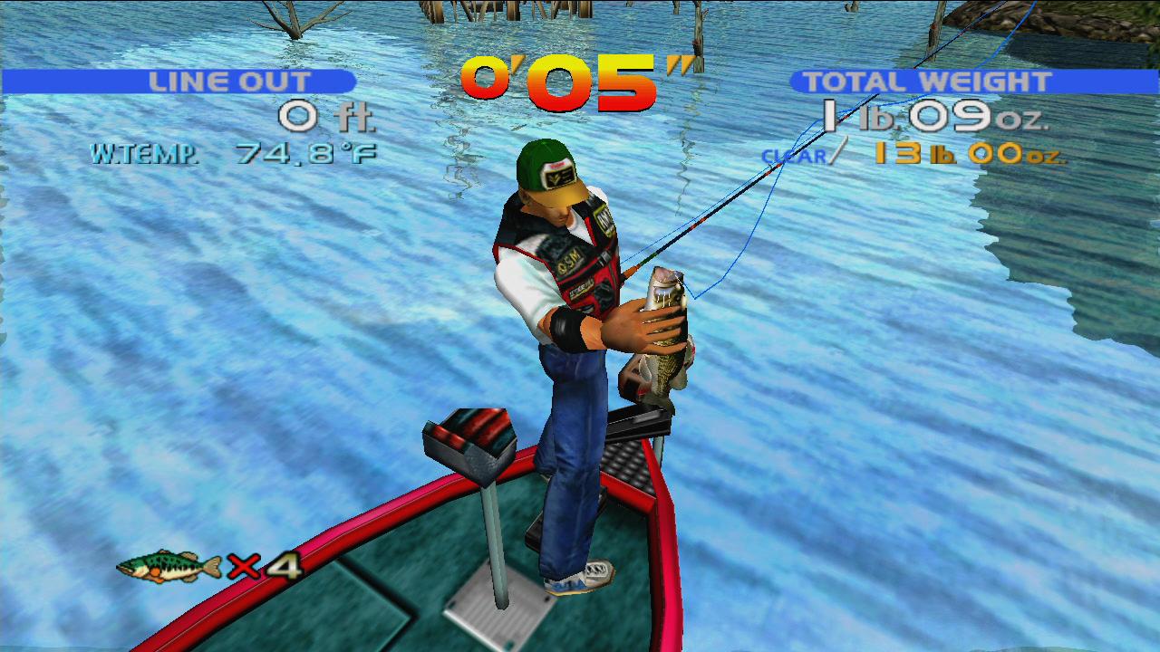 Bass Fishing screenshot 2