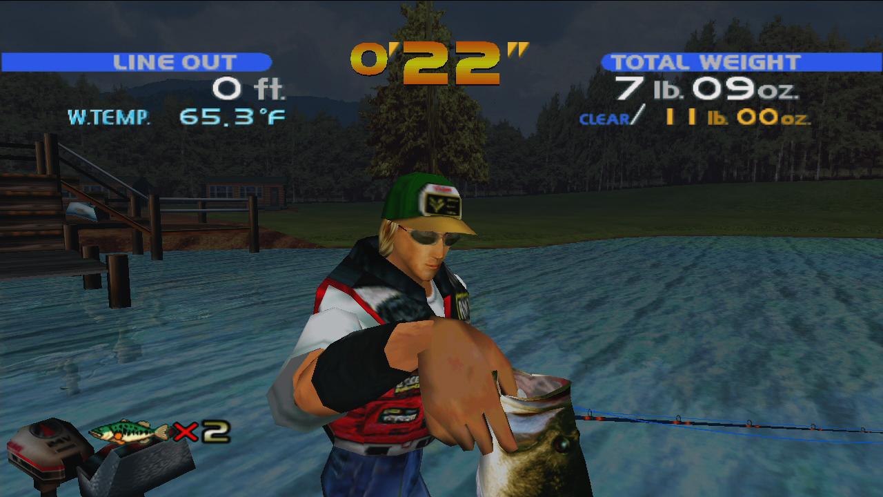 Bass Fishing screenshot 1