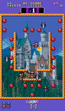 BombBomb Jack Twin - Arcade - Gameplay Screenshot