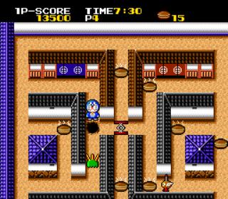 Cratermaze - TurboGrafx-16- Gameplay Screenshot