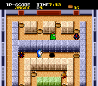 Cratermaze - TurboGrafx-16- Gameplay Screenshot