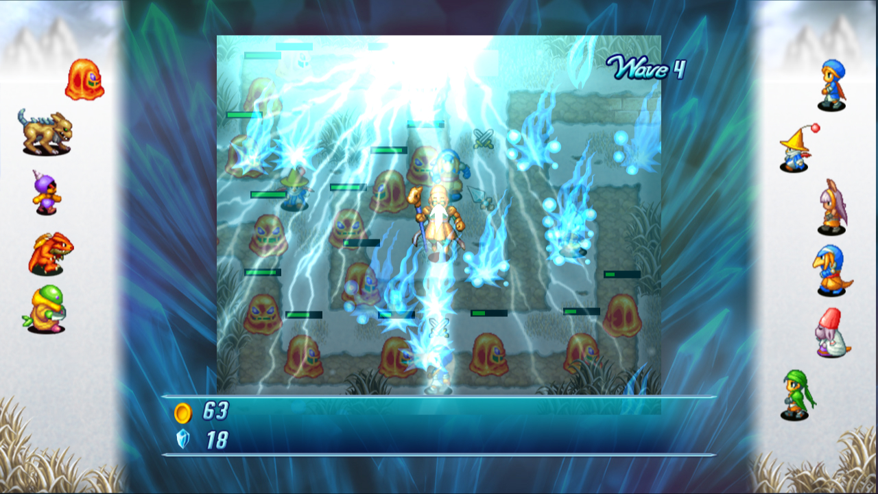 Crystal Defenders ScreenShot 2
