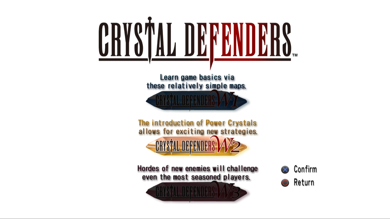Crystal Defenders Logo