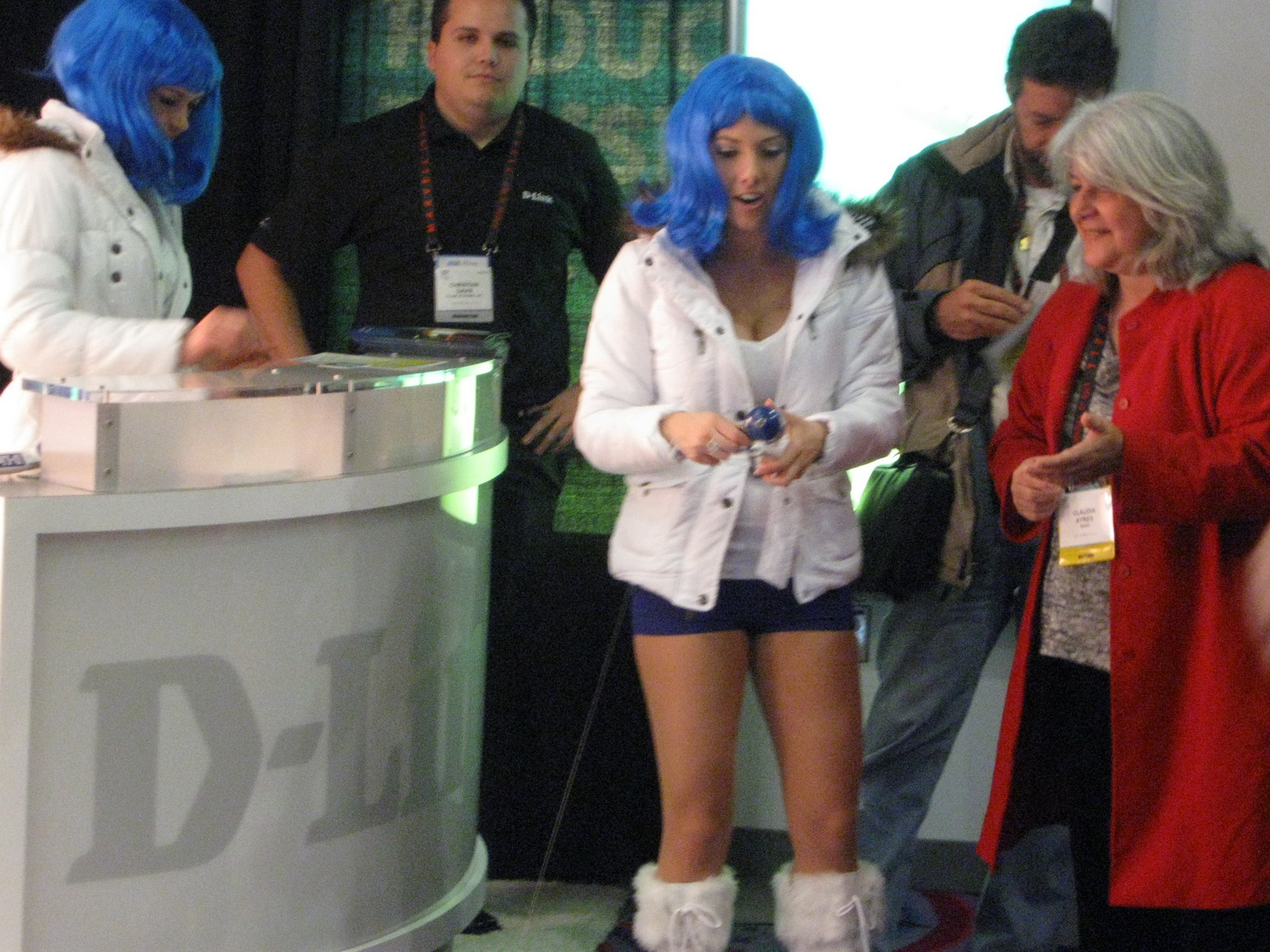 CES 2011 D-Link Booth Babes