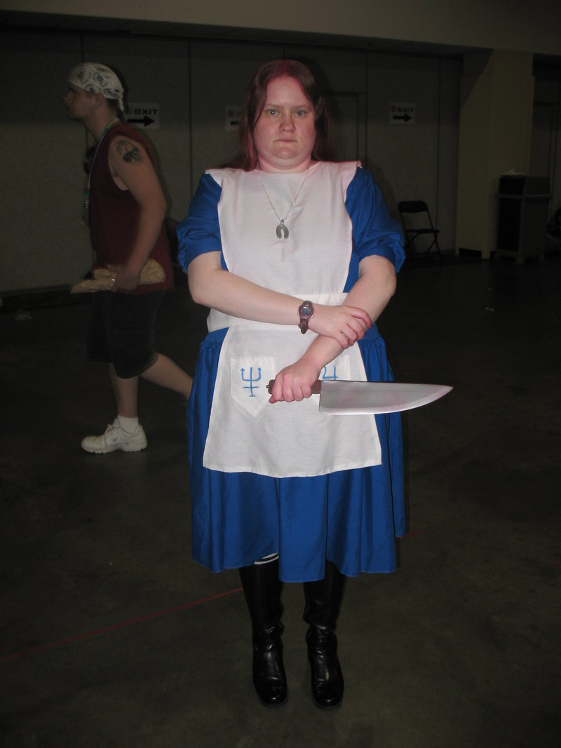 Fail American McGee Alice Cosplay