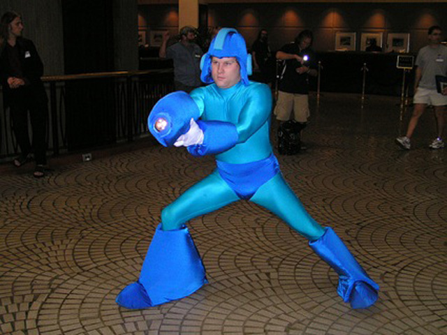 Fail Megaman Cosplay