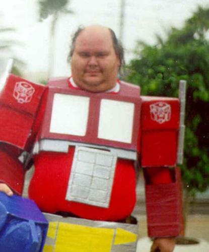 Fail Optimus Prime Cosplay