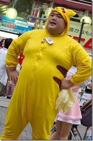 Fail Pikachu Cosplay