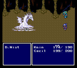 Final Fantasy 2 - snes - Gameplay Screenshot