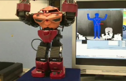 Humanoid Robot Kinect