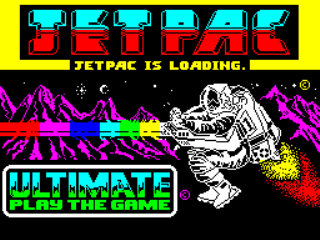 Jetpac - Gameplay Screenshot