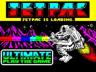 Jetpac - Gameplay Screenshot