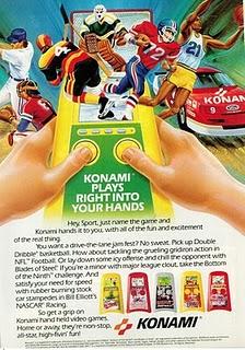 Konami Handhelds ad