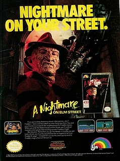 Nightmare on Elrm Street ad