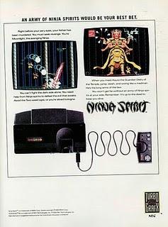 Ninja Spirit ad