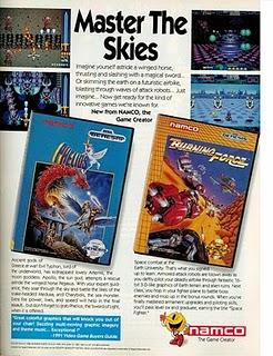 Phelios & Burning Force Genesis ads