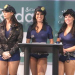 Traffic School Booth Babes at CES 2011