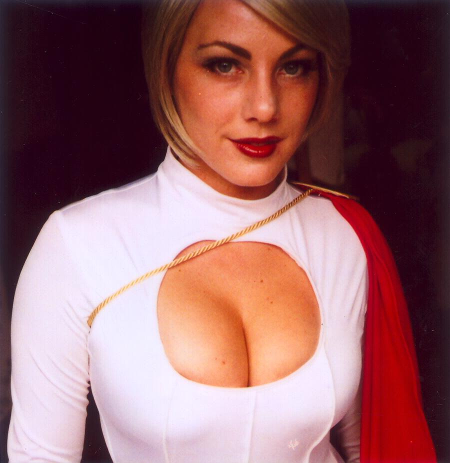 DC Universe Powergirl Cosplay girl