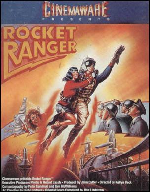 Rocket Ranger box